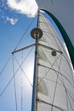 Mast and Sails Stock Photo