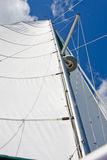 Mast and Sails royalty free stock photo