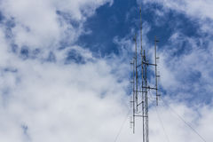 Mast with sky Stock Images