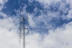 Mast with sky Royalty Free Stock Photo