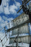 Mast of a Tall Ship. Mast of Tall Ship Royalty Free Stock Photo