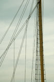 Mast of a tall ship Royalty Free Stock Photos