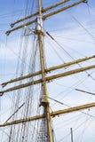 Mast und Seile Lizenzfreie Stockbilder