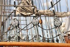 Mast und Takelung Lizenzfreies Stockfoto