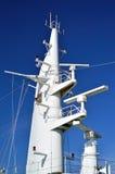 Mast van schip Royalty-vrije Stock Foto's