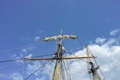 mast van varende boot Royalty-vrije Stock Afbeelding
