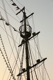 Mast of the vessel Stock Photos