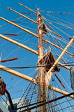 Mast view Royalty Free Stock Image