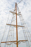 Mast yacht Stock Photography