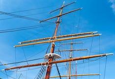 Mast yacht Royalty Free Stock Image