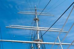 Mast yacht Stock Image