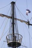 Maste von Schiffen und lizenzfreie stockfotos