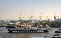 4-masted барк Стоковые Фотографии RF
