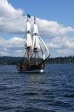 2 masted высокорослый корабль Стоковая Фотография