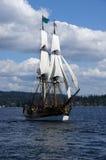 2 masted высокорослый корабль Стоковые Фото