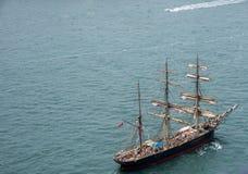 3-masted высокорослый корабль Стоковое Изображение