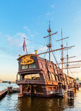 3-masted голландец летания парусного судна Стоковое Изображение