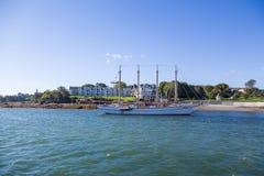 4 Masted клипер гостиницой гавани бара Стоковые Изображения RF