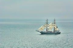 2 Masted парусное судно Стоковое Изображение