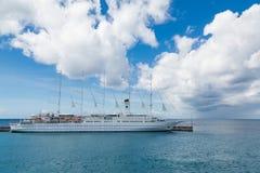 5 Masted парусное судно Стоковые Изображения