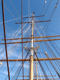 Masted of the Balclutha Royalty Free Stock Photo