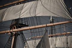 masten piratkopierar shipen Fotografering för Bildbyråer