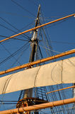 masten piratkopierar shipen Royaltyfria Foton
