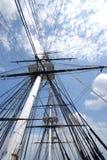 Masten van Grondwet USS Stock Foto's