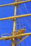 Masten van varend schip Royalty-vrije Stock Foto's