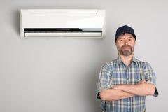 Master air conditioner Stock Photo