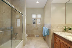 Master bath Royalty Free Stock Images