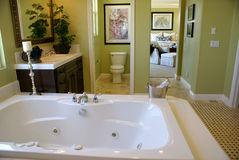 Master Bath Room Royalty Free Stock Images