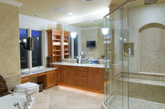 Master bathroom Royalty Free Stock Image