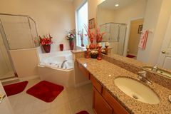 Master Bathroom Stock Photos