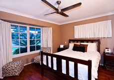 The Master Bedroom Royalty Free Stock Photos