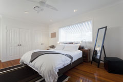 Master bedroom royalty free stock photo