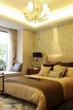 Noble bedroom Stock Image