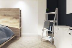 Master bedroom, ladder closeup Royalty Free Stock Photos