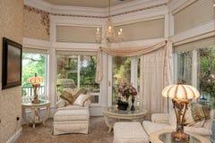 Master  Bedroom Sitting Area Royalty Free Stock Photo