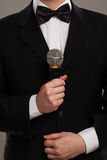 Master of ceremonies Stock Photo