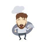 Master chef cartoon Royalty Free Stock Photos