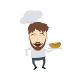 Master chef cartoon Stock Photos