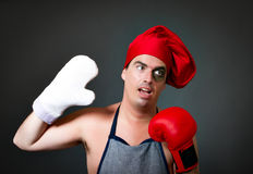 Master chef competitor Royalty Free Stock Images