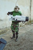 Master Chief at Lucca Comics and Games 2014 Stock Photos