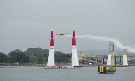 Master Class Nigel Lambs wins Red Bull Air Race Royalty Free Stock Photography