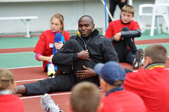 Master class of Wilson Kipketer Stock Photo