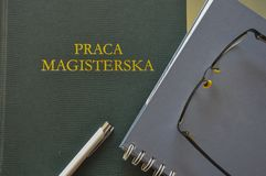 Master degree thesis will not be written by taking pictures of i Stock Images