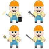 Master dello specialista nella riparazione, in costruzione e nel servizio Fotografia Stock