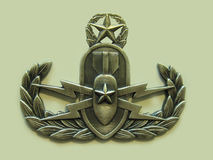 Master EOD Badge Royalty Free Stock Photography