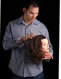 Master hair stylist Stock Photos